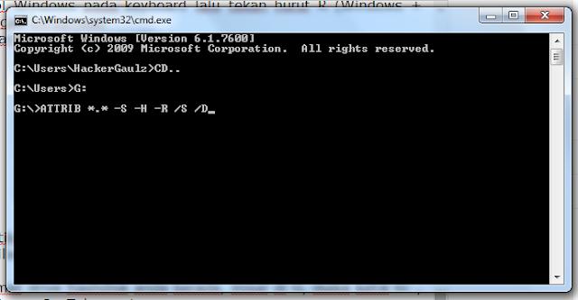 Cara mengembalikan File Flashdisk Yang Terhapus/Hilang