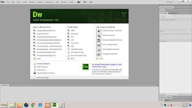 Download Adobe Dreamweaver CS 6 Portable Version