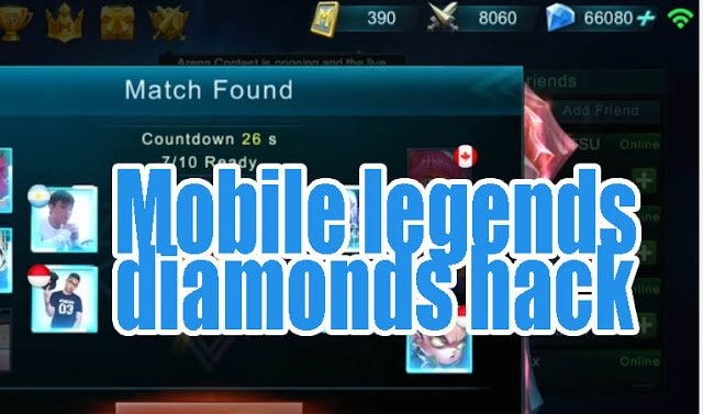 Cheat Mobile legends Diamond Hack