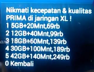 Trik KODE Rahasia Paket Internet Murah XL