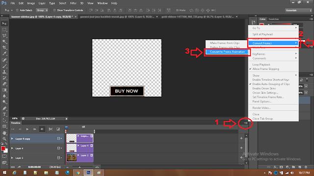cara mengubah timeline video ke animasi