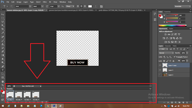 cara mengubah timeline video ke animasi2
