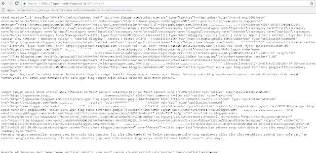 Cara Submit Sitemap Blog ke webmaster