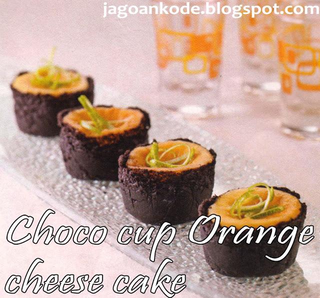 ChocoCupOrange CheeseCake