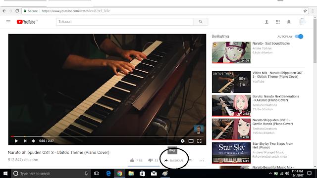 Memasukkan Vidio Dari Youtube Ke Blogger