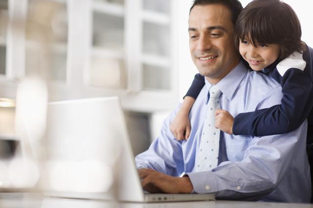 Cara Aman Membawa Buah Hati ANak kita KeKantor tempat kerja