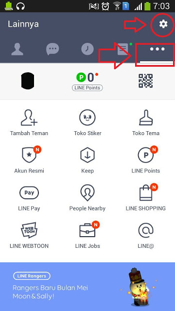 Cara Mengubah Bahasa Di Aplikasi LINE Messenger