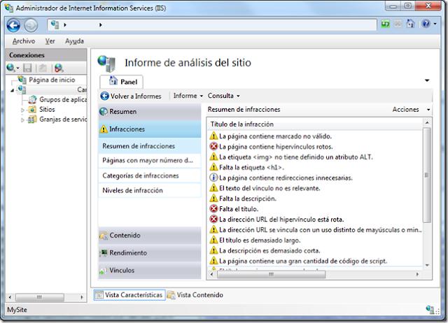 IIS Search Engine Optimization Toolkit seo tools