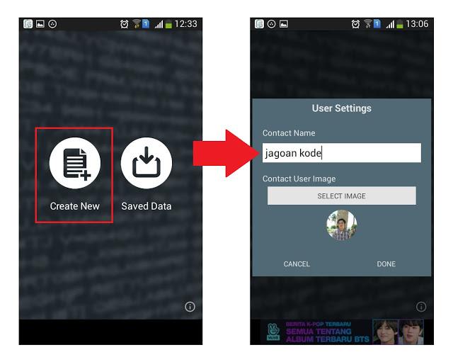 Cara Membuat Chat Palsu Di LINE Messenger