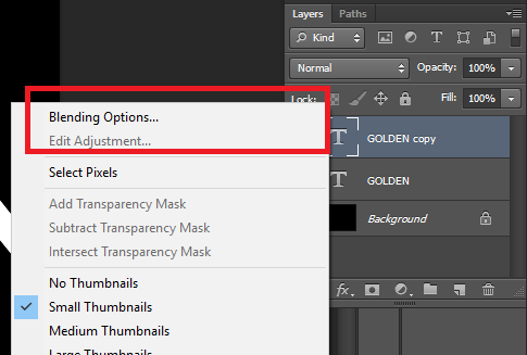 blending options diphotoshop CS6