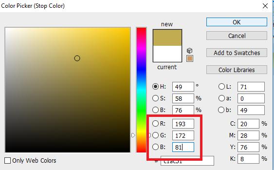 setingan warna RGB kanandiphotoshop CS6