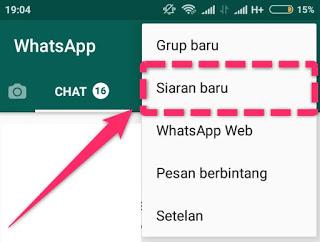 broadcast pesan di whatsapp