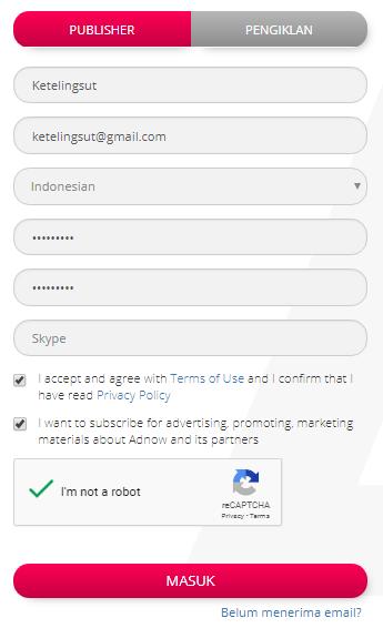 Cara Memasang Iklan AdNow Di Blog Lengkap