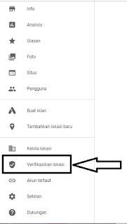Verifikasi Lokasi Bisnis