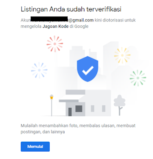 Verifikasi Bisnis Lokal Di Google
