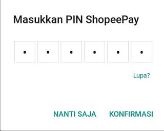 Saldo ShopeePay