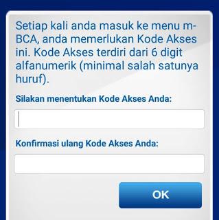 Aktifasi Ulang Aplikasi mBCA