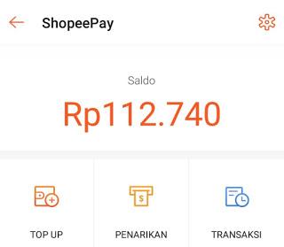cara mengembalikan dana dari shopeepay