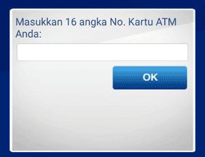 cara registrasi ulang m banking di atm bca