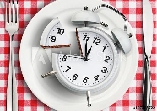Atur jam dan pola makan dalam menurunkan berat badan