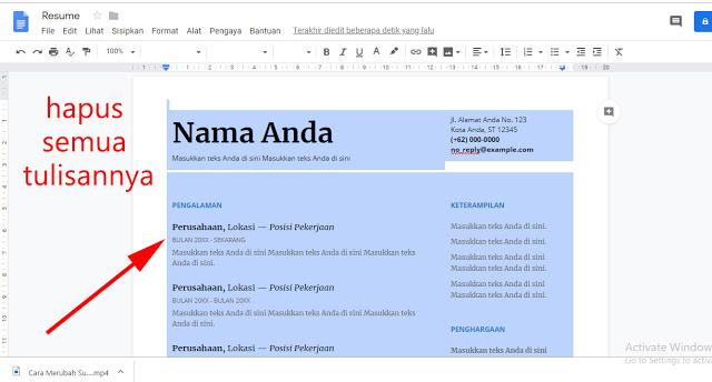Cara Mengaktifkan Tombol Dikte Atau Voice Typing Di Google Docs yang mati