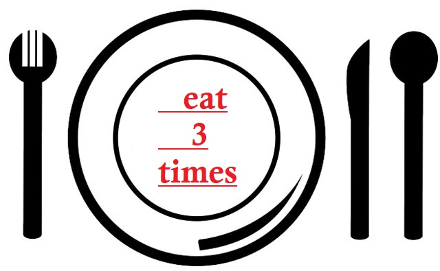 Makanlah 3 kali sehari jika kalian sedang diet dan menurunkan berat badan