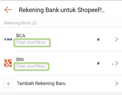 Berapa Lama Verifikasi Bank Shopeepay ?