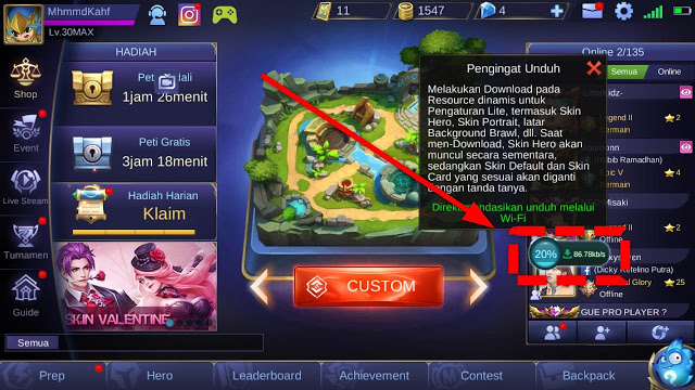 Cheat Mobile Legend