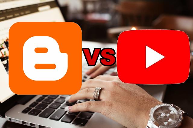 Mana Yang Lebih Bagus Jadi Youtuber Atau Blogger