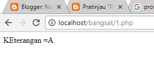 Percabangan PHP