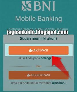 Aktivasi Mobile Banking BNI