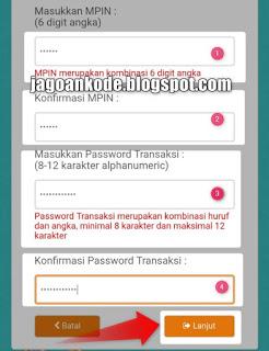Step 3 Mengisi Form Daftar Ulang Mobile Banking