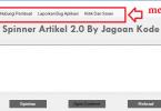 Tutorial Cara Menggunakan Aplikasi Spinner Artikel 2.0 Jagoan Kode