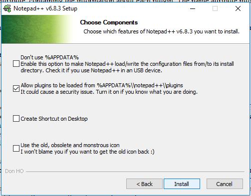 cara install plugin TextFX notepad++