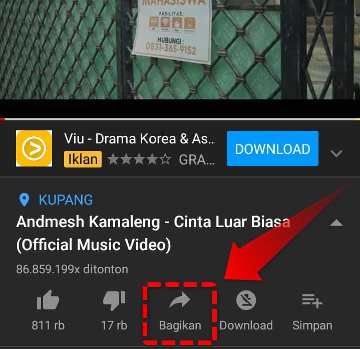 #1 Buka Aplikasi Youtube