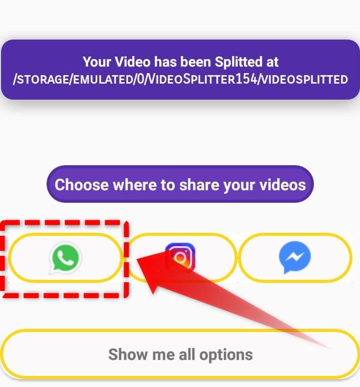 Share Video Ke WhatsApp