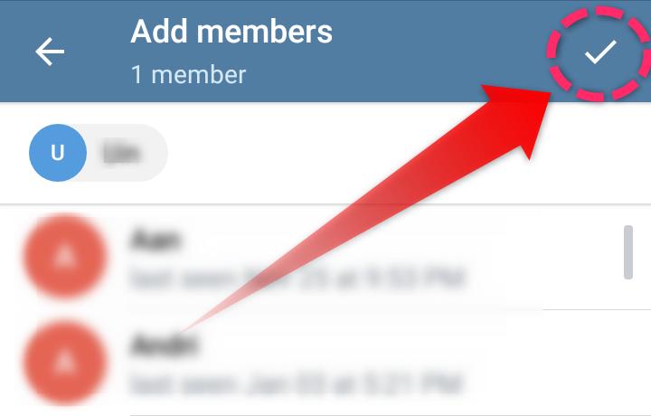 Member Channel Telegram