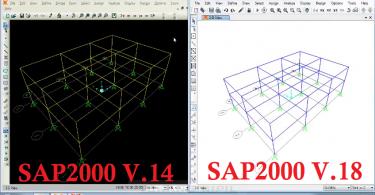 Cara-Merubah-Background-Hitam-V.14-Menjadi-Putih-V.19-SAP-2000