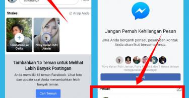 cara mengirim dan melihat pesan dm Facebook tanpa aplikasi