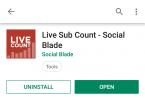 Live Sub Count - Social Blade