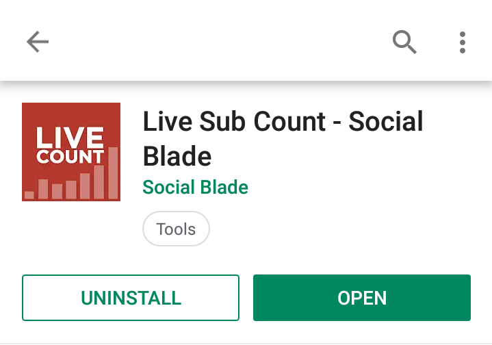 Live Sub Count - Social Blade