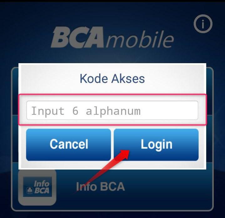 Kode Akses m-BCA