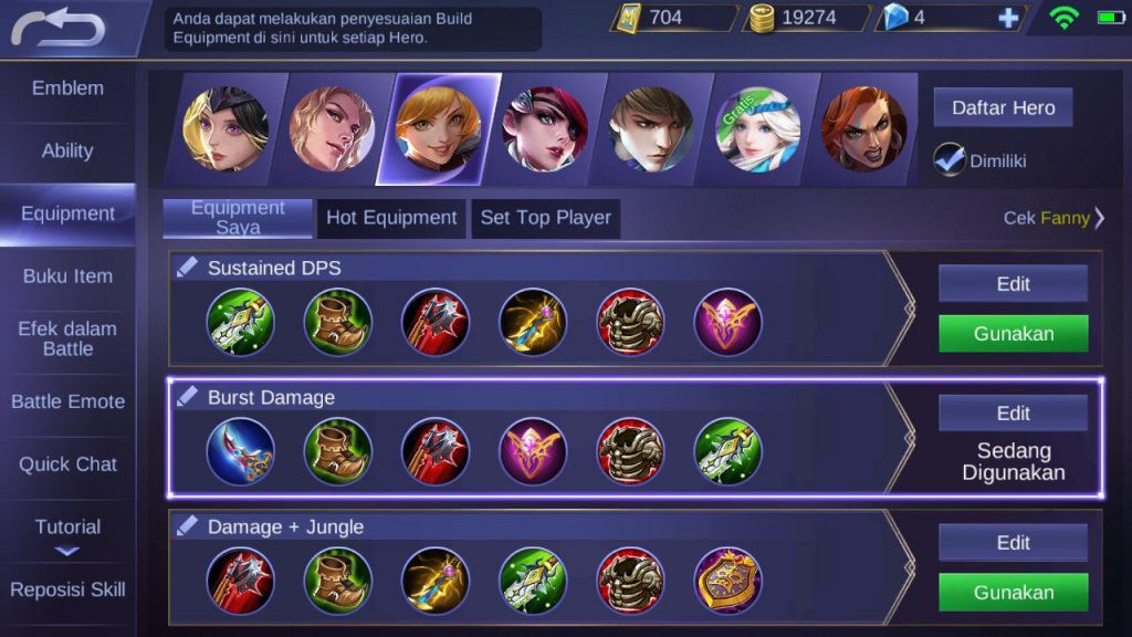 Tips Jago & Mahir Main Hero Fanny (Mobile Legends)