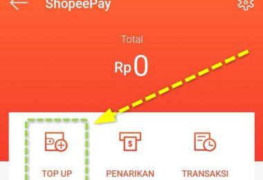 Top Up Saldo Shopeepay