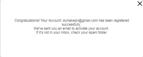 Aktivasi Email