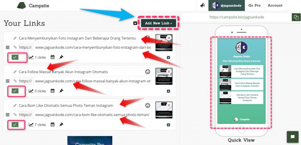Cara Menambahkan Banyak Link di Bio Instagram