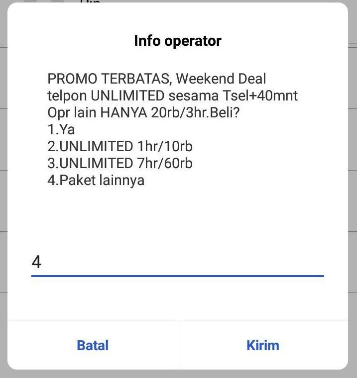 Layanan Masa Aktif Kartu Telkomsel