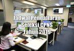 Jadwal Pendaftaran Seleksi CPNS