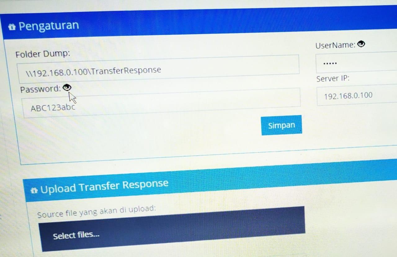 Memasangkan Transfer Response Kedalam Server Komputer Sekolah Untuk UNBK