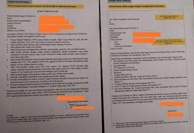 Cara Membuat Surat Lamaran dan Surat Pernyataan CPNS Kemendikbud